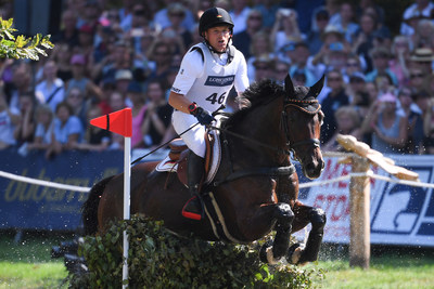 Germany's Michael Jung rides his 2019 European Championship horse Chipmunk FRH in Luhmuhlen, (GER) and the pair aim to make history with a hatric gold in Tokyo (JPN). FEI/ Oliver Hardt/Getty Images