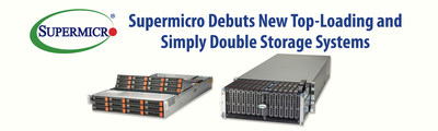 Supermicro Debuts New Top-Loading and Simply Double Storage Systems
