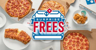 Mientras Otros Cobran Surprise Fees, ¡Domino's Regala Surprise FREES!