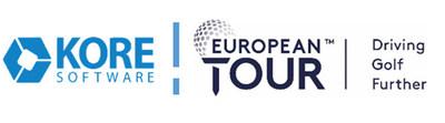 KORE Software Partners with European Tour. (PRNewsfoto/KORE Software)